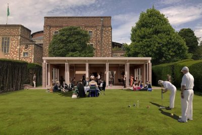 AJ Article: Glyndebourne circular-economy pavilion to be built from champagne corks and oyster shells